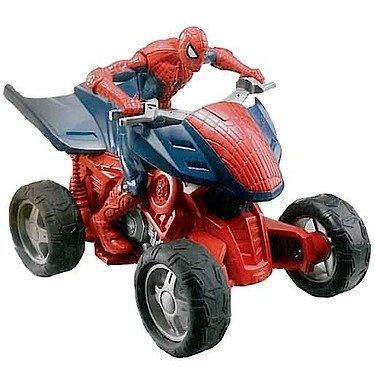 Jucarie marvel ultimate spider man zoom n go racer quad hasbro - Quad spiderman ...