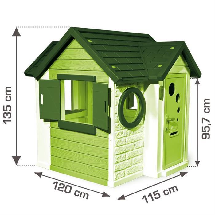 smoby casuta my house loc de joaca pentru exterior pentru copii cu varsta peste 2 ani. Black Bedroom Furniture Sets. Home Design Ideas