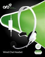 Accesoriu Orb Wired Chat Headset White Xbox One