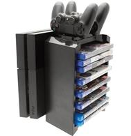 Accesoriu Venom 2 In 1 Games Storage Tower & Twin Charge Ps4