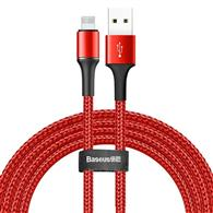 Baseus Halo Data Cable Usb For Ip 1.5A 2M Red