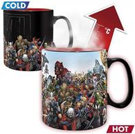 Cana Abysse Marvel Marvel Heroes 460Ml Heat Change Mug