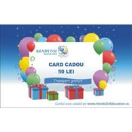 Card Cadou 50 Ron - Hands On Education