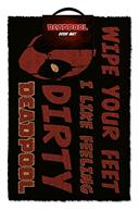 Carpeta Intrare Marvel Deadpool Dirty Feeling Door Mat
