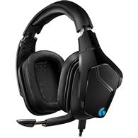 Casti Gaming Wireless Logitech G935 7.1 Surround Lightsync Rgb Multiplatforma Negru