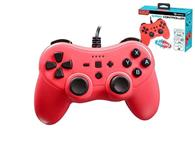 Controler Subsonic Pro S Red Colorz Wired Nintendo Switch