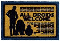 Covor Star Wars All Droids Welcome Doormat