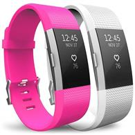 Curea Ceas Yousave Fitbit Alta Or Alta Hr Small Hot Pink And White