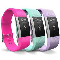 Curea Ceas Yousave Fitbit Alta Or Alta Hr Small Hot Pink Mint Green Lilac