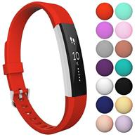 Curea Ceas Yousave Fitbit Alta Or Alta Hr Small Red