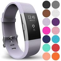 Curea Ceas Yousave Fitbit Charge 2 Large Lilac