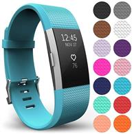 Curea Ceas Yousave Fitbit Charge 2 Small Cyan