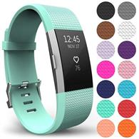 Curea Ceas Yousave Fitbit Charge 2 Small Mint Green