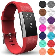 Curea Ceas Yousave Fitbit Charge 2 Small Red