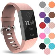 Curea Silicon Ceas Yousave Fitbit Charge 3 Milanese Small Rose Gold