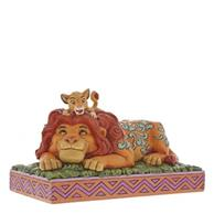 Figurina A Father S Pride Simba & Mufasa Lion King Disney Traditions Figurine