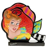 Figurina Belle Rose Beauty & The Beast Disney Britto Icon