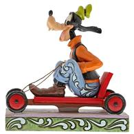 Figurina Life In The Slow Lane Goofy Disney Traditions Figurine