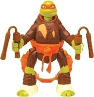 Figurina Nickelodeon Teenage Mutant Ninja Turtles Throw N Battle Michelangelo Figure With Motion