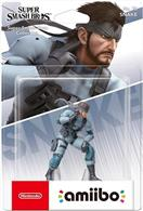 Figurina Nintendo Amiibo Character Snake Metal Gear Solid Switch