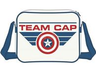 Geanta Captain America Civil War Team Cap Messenger Bag