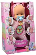 Jucarie As Nenuco Doll With 5 Functions Pink Clothes