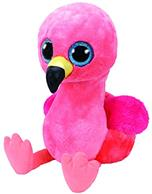 Jucarie De Plus Ty Beanie Boo Gilda The Flamingo 42 Cm