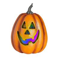 Jucarie Halloween Pumpkin Colour Changing Led Lights Prop