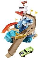 Jucarie Hot Wheels Color Shifters Sharkport Showdown Trackset