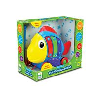 Jucarie Learning Journey Pull Along Tune Fish