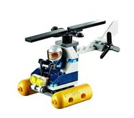 Jucarie Lego City Swamp Police Helicopter Mini Set