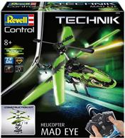 Jucarie Mad Eye Helicopter Remote Controlled Revell Technik Kit