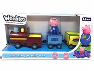 Jucarie Peppa Pig Weebles Pull Along Wobbly Train