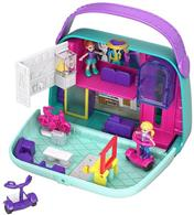 Jucarie Polly Pocket World Shopping Mall Compact Play Set