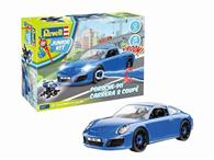 Jucarie Porsche 911 Carrera S 1 20 Revell Junior Kit