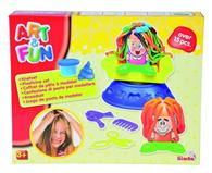 Jucarie Simba Art & Fun Hairstudio Clay Dough Set