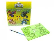 Jucarie Skylanders Swap Force Stencilbook And Pencil