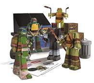 Jucarie Teenage Mutant Ninja Turtle Papercraft Team