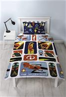 Lenjerie De Pat Incredibles 2 Retro Single Rotary Duvet