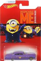 Masinuta Despicable Me Hot Wheels Car Minions Fish D & Chip D