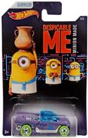Masinuta Despicable Me Hot Wheels Car Minions Jester