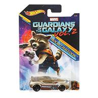 Masinuta Hot Wheels Car Marvel Guardians Of The Galaxy Vol.2 Rocketraccoon Fast Fish