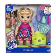 Papusa Baby Alive Potty Dance Blonde