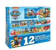 Paw Patrol Puzzle 12 In 1