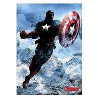 Poster Captain America Marvel Dark Edition Licensed Metal Poster