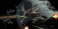 Poster Star Wars Tie Fighter Versus X-Wing 50X25cm