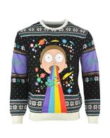 Pulover Rick And Morty Christmas Jumper S
