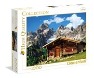 Puzzle 1000 Piese Hq - Austria - The Mountain House - Clementoni 39297