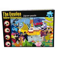 Puzzle The Beatles Yellow Submarine 1000 Piese