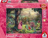 Puzzle Thomas Kinkade Disney Sleeping Beauty 1000 Pcs